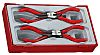 Teng Tools 250 mm Chrome Vanadium Steel Pliers