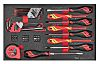 Teng Tools Slotted Head Screwdriver Set 54 Piece