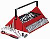 Tool Kit 187 Pieces with Carrying Box