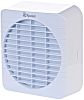Xpelair 90800AW Window Mounted Extractor Fan, 266m³/h, 37dB(A)