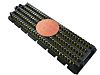 Samtec, SEAM, 400 Way, 8 Row, Straight PCB