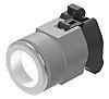 EAO White Pilot Light, 31mm Cutout 704 Series