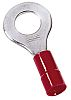 MECATRACTION, 51000 Insulated Ring Terminal, M4.2 Stud Size,