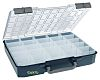 Raaco 25 Cell Blue PC, PP Compartment Box,
