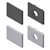 Bosch Rexroth Grey Polypropylene Cover Cap