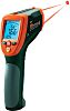 Extech 42570 Infrared Thermometer, Max Temperature +2200°C, 1 °C, Centigrade, Fahrenheit With RS Calibration