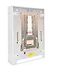 Contactum 3 Phase Distribution Board, 12 Way, 125