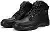 RS PRO Black Fibreglass Toe Capped Mens Safety Boots, UK 9, EU 43