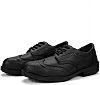 RS PRO Mens Black Toe Capped Safety Shoes, EU 47, UK 12