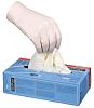 Honeywell White Latex Disposable Gloves size 9 -