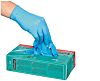 Honeywell Blue Nitrile Disposable Gloves size 8 -
