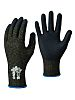 S-TEX 581, Black/Grey Foam Nitrile Coated Work Gloves
