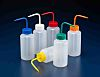 RS PRO 500ml LDPE Wide Neck Wash Bottle