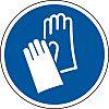 RS PRO Vinyl Floor Graphic Wear Gloves Sign