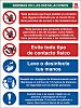 RS PRO PVC Social Distancing Site Safety Sign