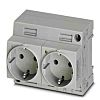 Phoenix Contact German Mains Plug & Socket, 16A,