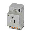 Phoenix Contact USA Mains Sockets, 15A, DIN Rail,