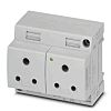 Phoenix Contact Mains Plug & Socket, 6A, DIN