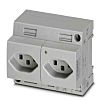 Phoenix Contact Swiss Mains Plug & Socket, 16A,