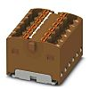 Phoenix Contact Distribution Block, 12 Way, 2.5mm², 17.5A,