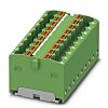 Phoenix Contact Distribution Block, 18 Way, 2.5mm², 17.5A,