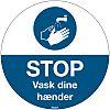 Brady Safety Poster, Danish, 350 mm, 350mm