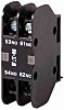 Eaton Auxiliary Contact - 2NC, 1 Contact, Front