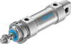 Festo Pneumatic Roundline Cylinder 32mm Bore, 25mm Stroke,