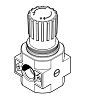 Festo Pneumatic Regulator 11500L/min G 1/4