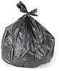 Cromwell Polythene 200 x Black Polythene Bin Bag,