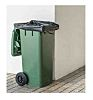 Cromwell Polythene 100 x Black Polythene Bin Bag,