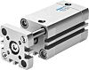 Festo Pneumatic Compact Cylinder 40mm Bore, 50mm Stroke,