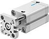 Festo Pneumatic Compact Cylinder 25mm Bore, 15mm Stroke,