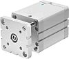 Festo Pneumatic Compact Cylinder 63mm Bore, 50mm Stroke,
