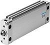 Festo Pneumatic Compact Cylinder 32mm Bore, 50mm Stroke,