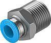 Festo Threaded-to-Tube Pneumatic Straight Threaded-to-Tube Adapter