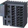 Siemens Ethernet Switch, 24 RJ45 port, 24V dc,
