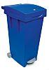 Mini Waste Container 80L Blue PP Waste Bin
