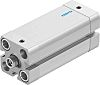 Festo Pneumatic Compact Cylinder 20mm Bore, 50mm Stroke,