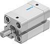 Festo Pneumatic Compact Cylinder 20mm Bore, 20mm Stroke,