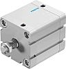 Festo Pneumatic Compact Cylinder 63mm Bore, 40mm Stroke,