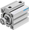 Festo Pneumatic Compact Cylinder 32mm Bore, 25mm Stroke,