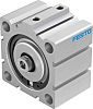 Festo Pneumatic Compact Cylinder 80mm Bore, 15mm Stroke,