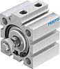 Festo Pneumatic Compact Cylinder 40mm Bore, 15mm Stroke,