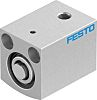 Festo Pneumatic Compact Cylinder 12mm Bore, 10mm Stroke,