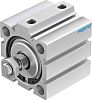 Festo Pneumatic Compact Cylinder 50mm Bore, 20mm Stroke,
