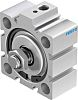 Festo Pneumatic Compact Cylinder 50mm Bore, 10mm Stroke,