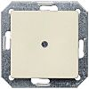 White 1 Gang Blanking Plate, Thermoplastic Screw Mount