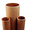 RS PRO Brown Round Paper Laminated Plastic, 1.2m