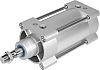 Festo Pneumatic Cylinder 80mm Bore, 80mm Stroke,